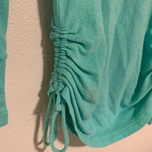 Maurices Tops - {Maurices In Motion} Aqua Sweatshirt